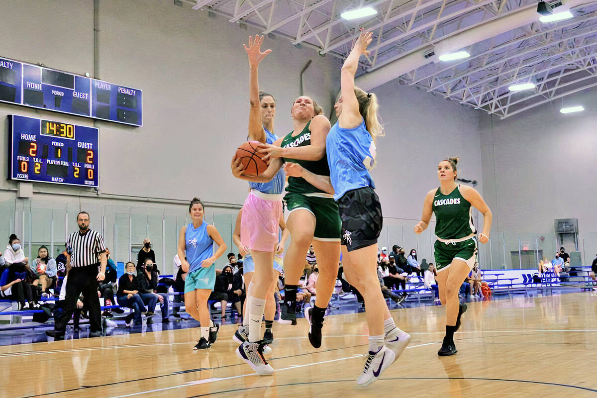 The 2021 edition of the BBall Nationals championships at Langley Events Centre took place from Sept. 9 to Sept. 11. (Langley Advance Times/file)